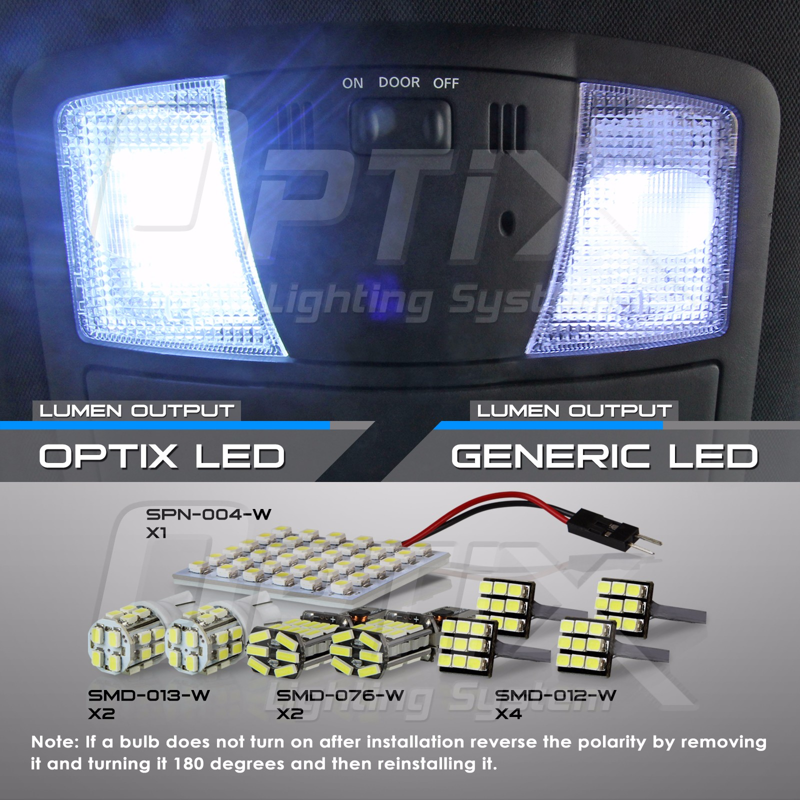 Led Light Bulb Complete Interior Package License Plate