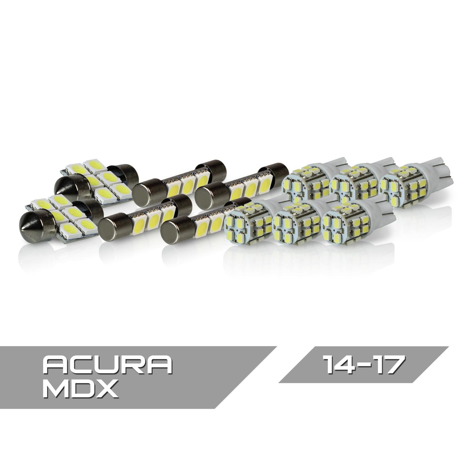 Optix 12pc 2014+ Acura MDX LED Interior Light Package